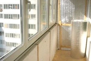 10 Властивостей пінопласту, що дають підставу утеплювати їм балкон