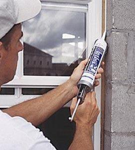 Силіконовий герметик для вікна