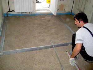Що являє собою суха стяжка підлоги