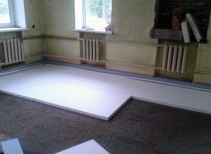 Що принесе в ваш будинок утеплення підлоги пінопластом?