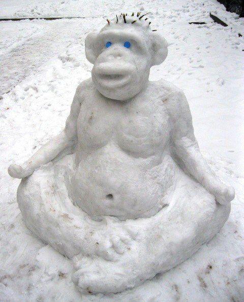 Робимо фігури зі снігу своїми руками