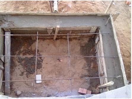 Фундамент під веранду
