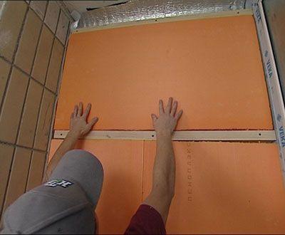 Утеплюємо підлогу Піноплекс