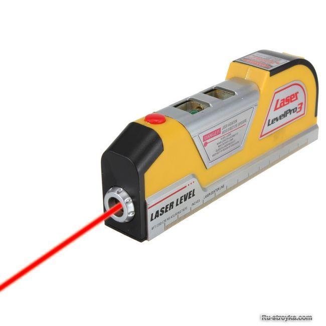 Електронна лазерна рулетка - незамінний помічник ремонтників і будівельників