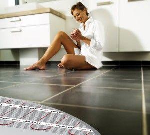 Кабельний тепла підлога - під плитку і в стяжку