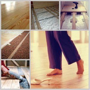 Як здійснюється утеплення підлоги з дерева?