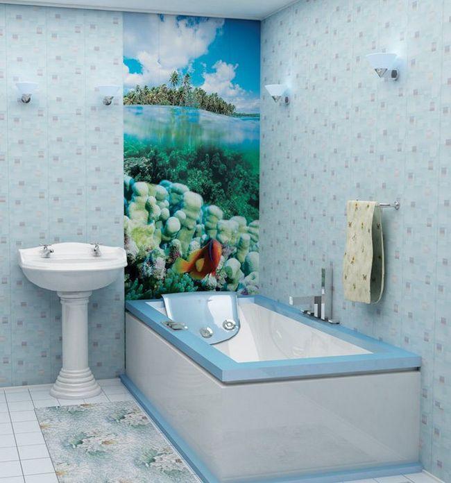 Як обробити ванну кімнату пластиковими панелями своїми руками