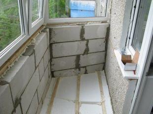 Як зробити балкон в хрущовці своїми руками? Кілька хороших способів