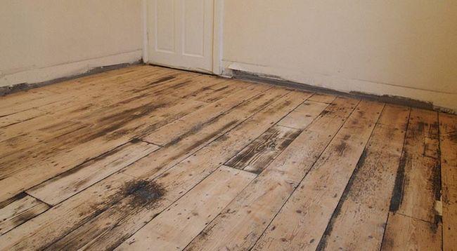 Фото: Дерев`яна підлога не зовсім придатний для рідких складів
