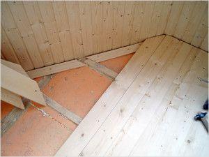 Утеплення підлоги на лоджії
