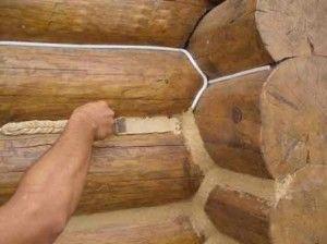 Утеплення дерев`яного будинку зсередини