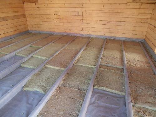Як утеплити підлогу на дачі своїми руками: роботи з використанням ламінату в якості фінішного покриття