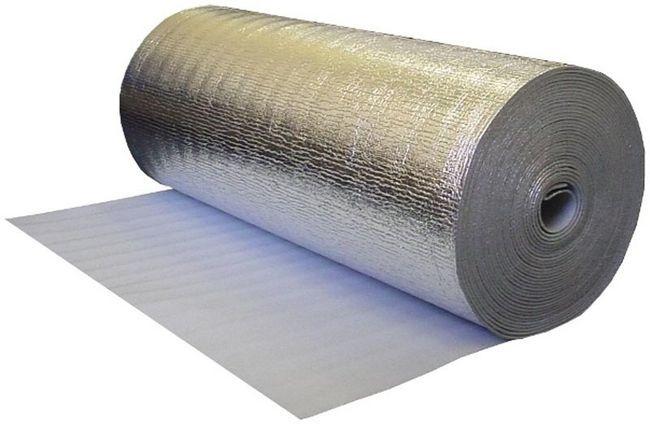 Фото: Ізолон сучасний матеріал з відбиваючим покриттям