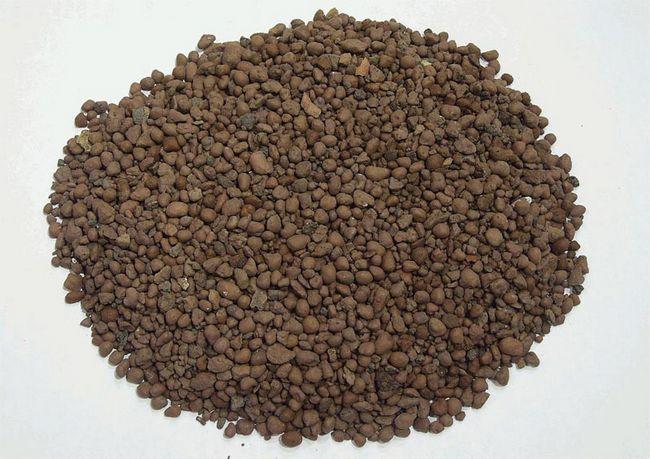 Фото: Керамзитовий пісок має дрібні фракції до 5 міліметрів