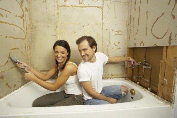 Косметичний і капітальний ремонт ванної кімнати і туалету своїми руками - планування і стадії