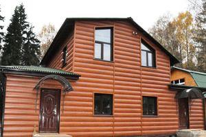 Обшивка будинку блок хаусом