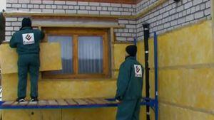 Підготовка стін під блок хаус