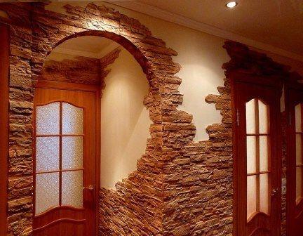 внутрішнє оздоблення кімнати декоративною цеглою