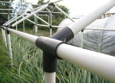 Особливості виготовлення теплиці з поліпропіленових труб своїми руками