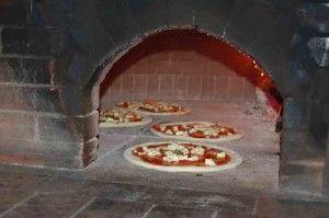 Піч для піци дна дровах