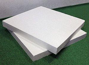 Пінопласт в листах використовується для теплоізоляції