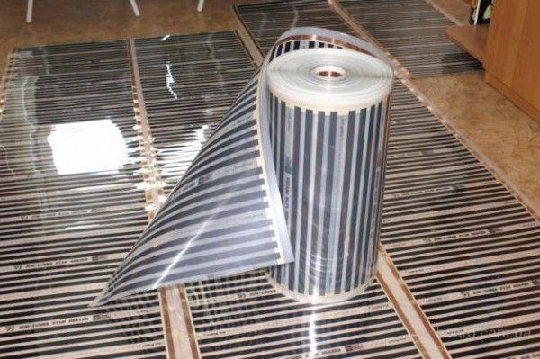 Плівкова тепла підлога під ламінат