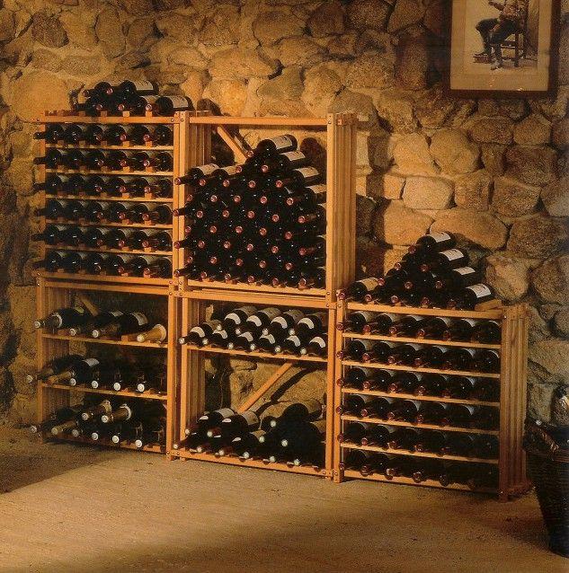 Стелаж для вина: робимо своїми руками