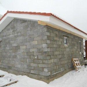 Будівництво лазні з шлакоблоків