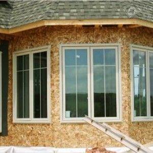 Технологія будівництва каркасного будинку з осб плит