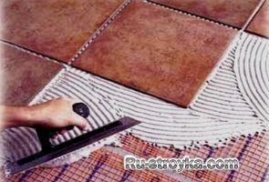 Укладання плитки своїми руками