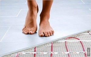 Тепла підлога під кахельну плитку