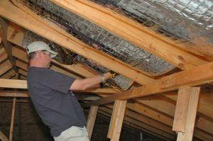 Утеплення даху зсередини своїми руками: інструкція і відео