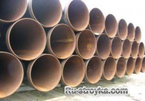 Труби сталеві електрозварні