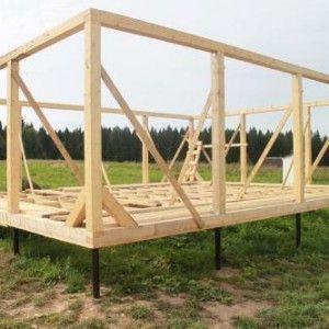 Вибір фундаменту для будівництва каркасного будинку